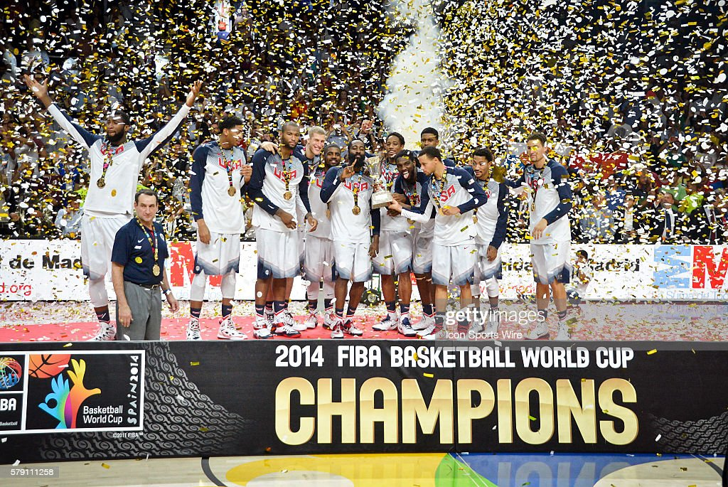 BASKETBALL: SEP 14 FIBA Basketball World Cup - Final - USA v Serbia : News Photo