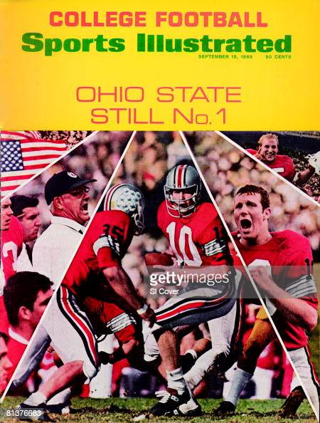 15, Sports  College Cover, September 1969 Illustrated