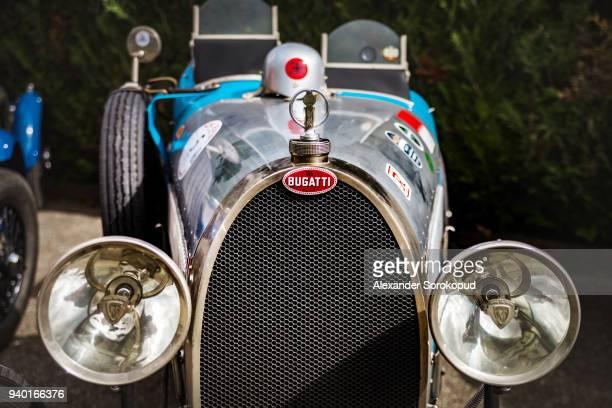 september 15, 2017. gresswiller, bas-rhin, france.  34th festival bugatti in alsace. - bugatti stock photos and pictures
