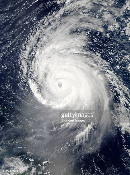 September 16, 2010 - Hurricane Igor in the Atlantic Ocean.