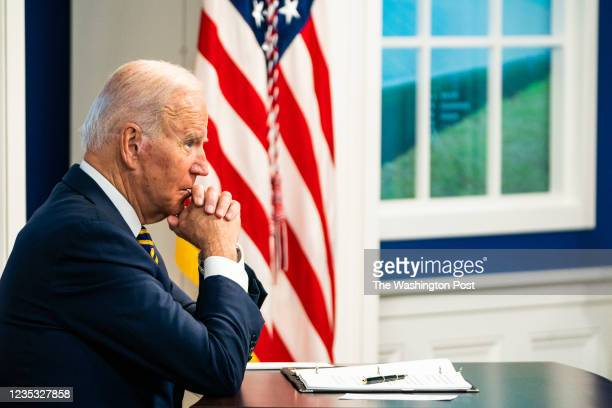 September 17, 2021: US President Joe Biden during the Major Economies Forum on Energy and Climate to galvanize efforts to confront the global climate...