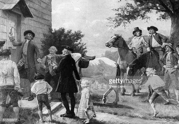 September 1753 The posting of the notice of sale of Fordham Manor on the door of the parish church This is the second largest real estate deal in New...