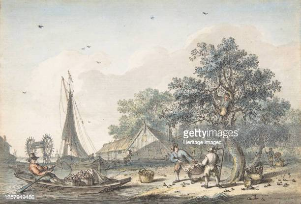 September, 1772. Artist Hendrik Meijer.