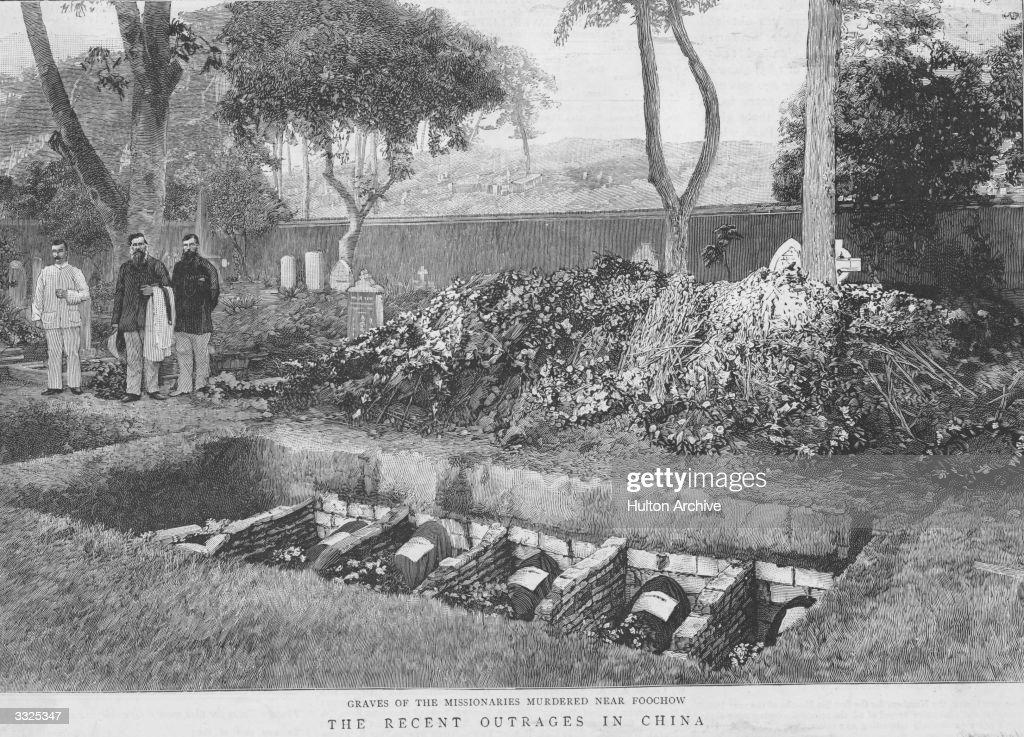 Missionaries Graves : News Photo