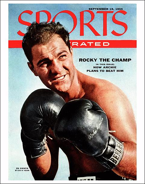 MA: 27th April 1956 - American Heavyweight Boxing Champion Rocky Marciano Retires Undefeated