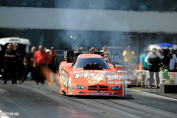 Matt Hagan knocks out Robert Hight in the first round of the NHRA Nationals at ZMAX Dragway in CharlotteNCSeptember 19 2010 at ZMAX Dragway in...