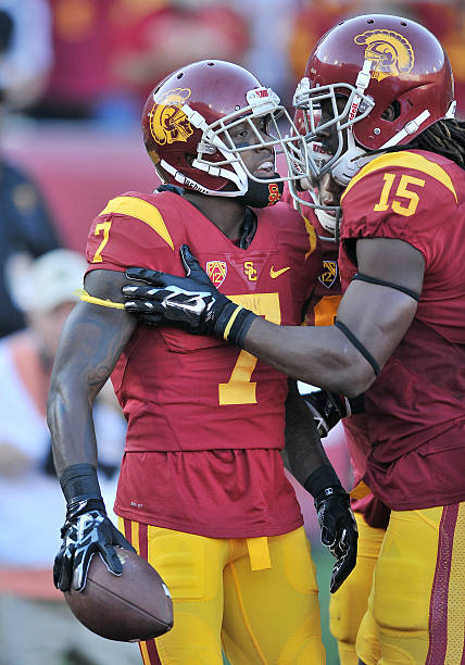 competitive price 001c2 9ebc3 NCAA FOOTBALL: SEP 19 Stanford at USC Pictures | Getty Images