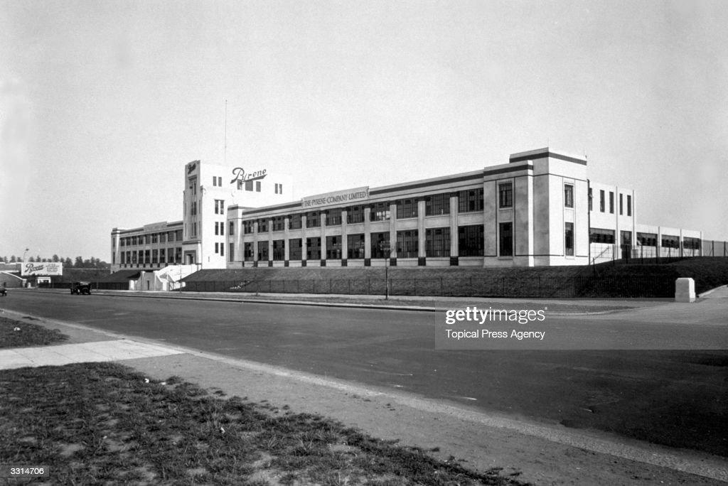 The Pyrene Company factory.