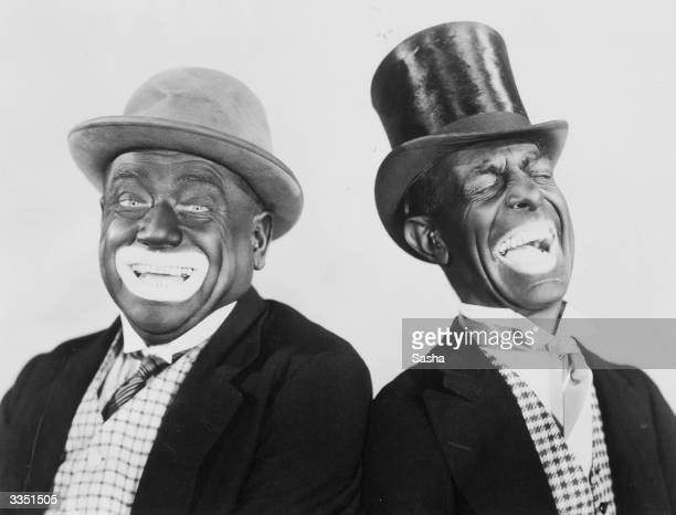 Minstrel show performers Alexander and Mose
