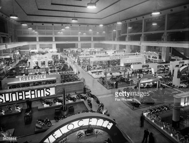 A motorcycle show at Earl's Court in London