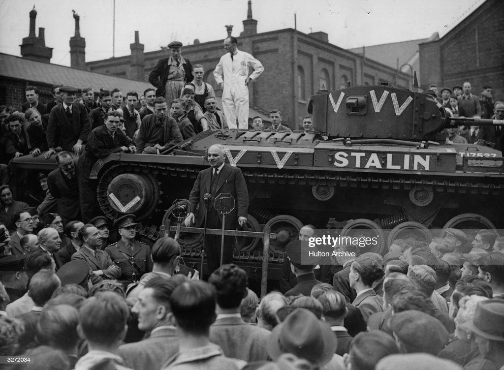 A Tank Called Stalin : News Photo