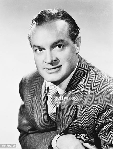 September 1950 A head and shoulders shot of Bob Hope