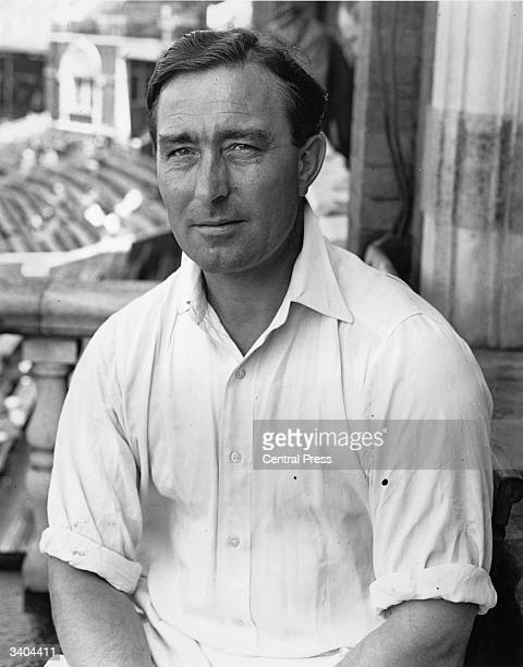 England and Middlesex cricketer Denis Compton