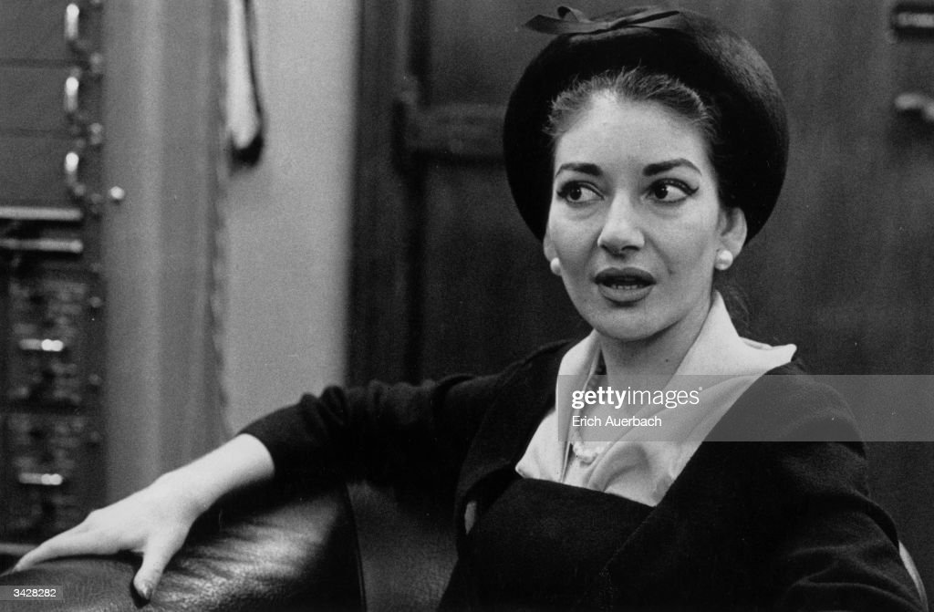 Callas The Diva : News Photo