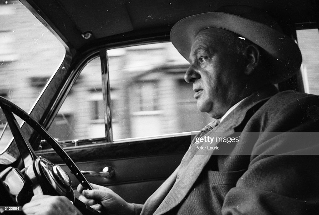 Percy Shaw Inventor Of The Cat S Eyes Road Safety Device At The News Photo Getty Images