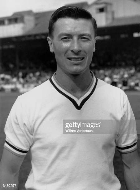 Burnley FC footballer Jimmy McIlroy