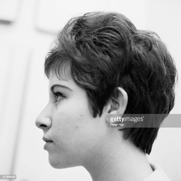 Teenage pop sensation Helen Shapiro who made the top of the hit parade with her song 'Please Don't Treat Me Like A Child'