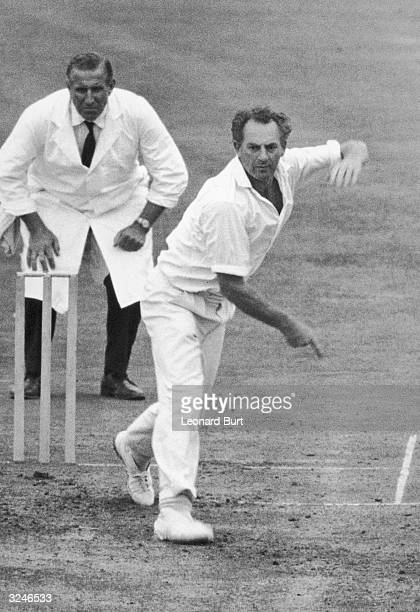 Donald John Shepherd of Glamorgan Country Cricket Club.