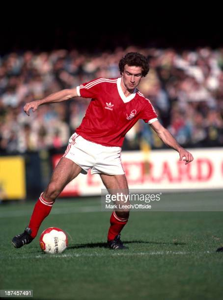 15 September 1979 Football League Division One Norwich City v Nottingham Forest Martin O'Neill of Forest