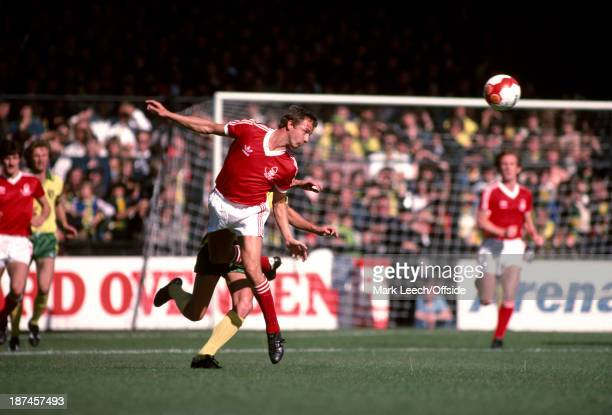 15 September 1979 Football League Division One Norwich City v Nottingham Forest John McGovern of Forest