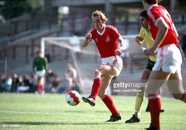 15 September 1979 Football League Division One Norwich City v Nottingham Forest Ian Bowyer of Forest wins the ball