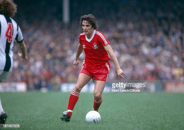 September 1979 Football League Division One West Bromwich Albion v Nottingham Forest, Frank Gray of Forest.
