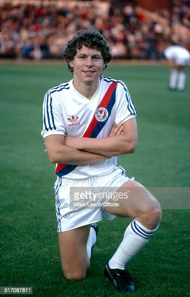 27 September 1980 English Football League Division One Crystal Palace v Aston Villa Clive Allen of Palace