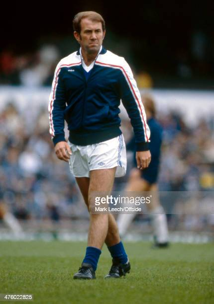 September 1981 - Football League Division One - Tottenham Hotspur v Everton - Everton Manager Howard Kendall.