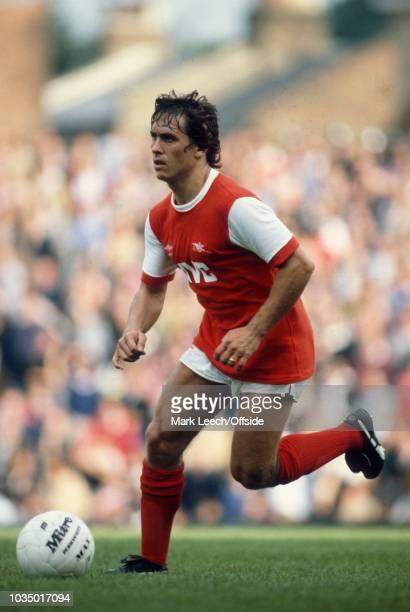 12 September 1981 London Football League Division One Arsenal v Sunderland Kenny Sansom of Arsenal FC