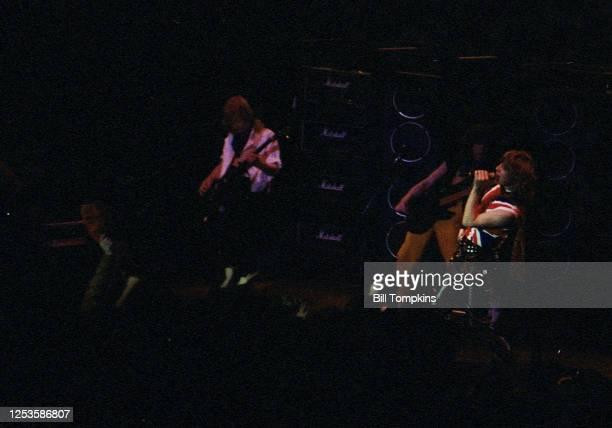 September 1983]: Def Leppard perform September 1983 in New York City.
