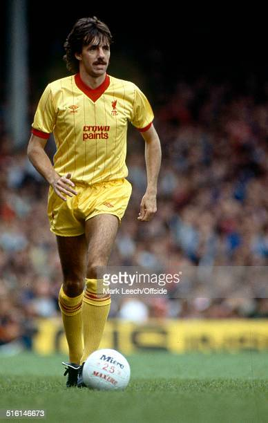 10 September 1983 English Football League Division One Arsenal v Liverpool Mark Lawrenson of Liverpool