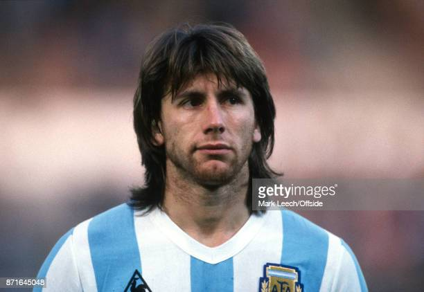 International football friendly match Belgium v Argentina Ricardo Gareca of Argentina Photo Mark Leech