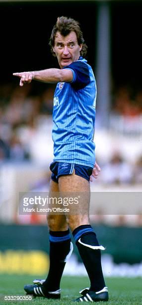22 September 1984 Football League Division One Arsenal v Stoke City Alan Hudson of Stoke