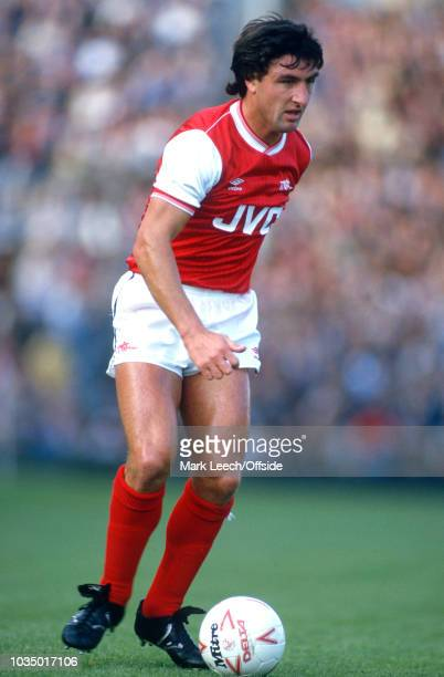 22 September 1984 London Football League Division One Arsenal v Stoke City Brian Talbot of Arsenal FC