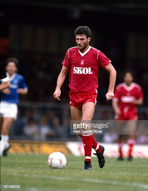 08 September 1985 Football League Division One Leicester City v Nottingham Forest Forest striker Garry Birtles