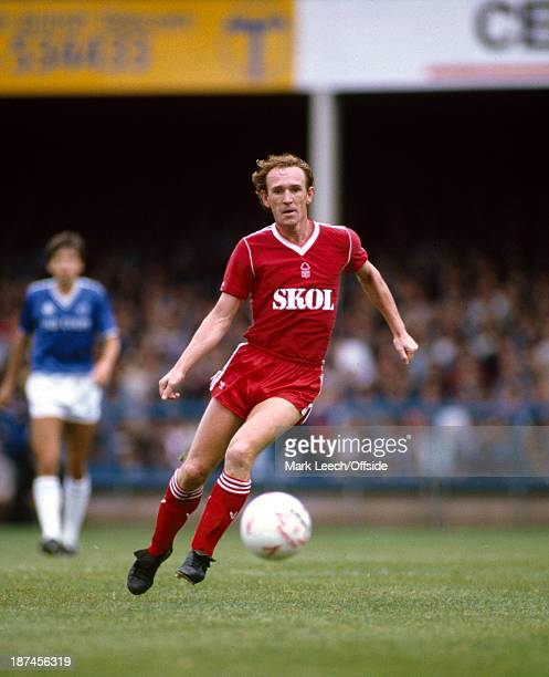 08 September 1985 Football League Division One Leicester City v Nottingham Forest Ian Bowyer of Forest