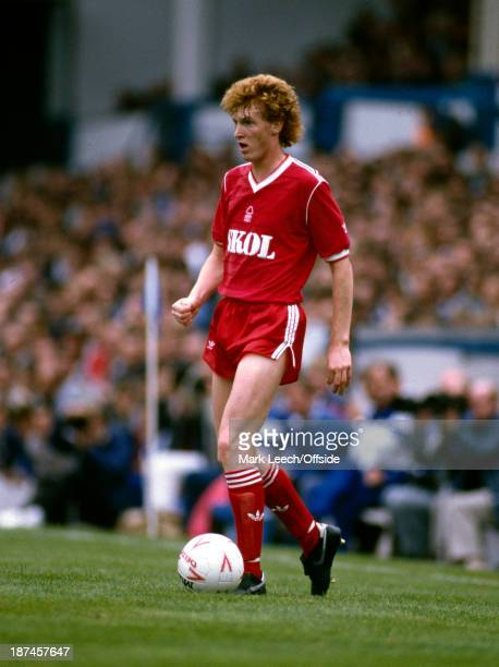 08 September 1985 Football League Division One Leicester City v Nottingham Forest Brian Rice of Forest