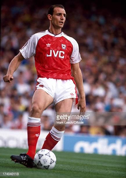 01 September 1990 Football League Division One Arsenal v Tottenham Hotspur Arsenal defender Steve Bould