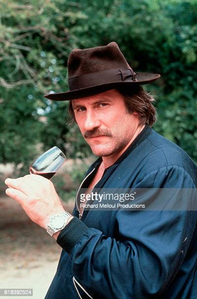 Gerard Depardieu nominated for the 1991 Best Actor Academy Award in his wineyard Chateau de Tigne