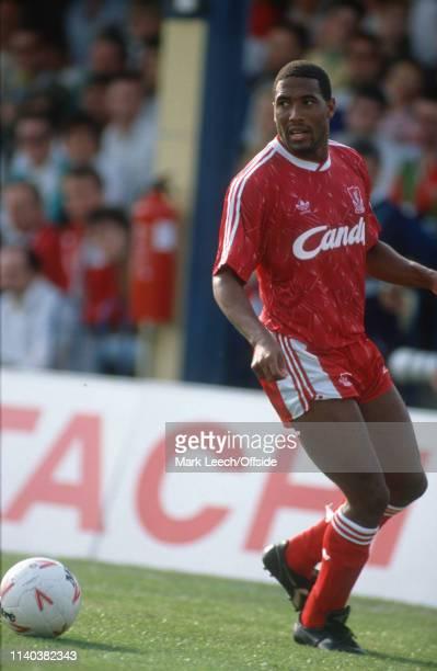 8 September 1990 Wimbledon v Liverpool English Football Division One London John Barnes of Liverpool