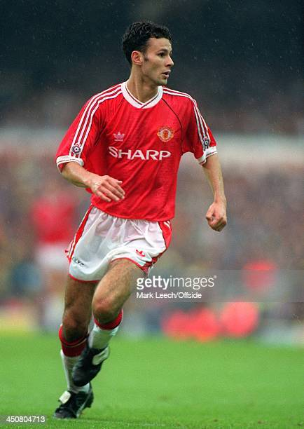 28 September 1991 English Football League Division One Tottenham Hotspur v Manchester United Ryan Giggs of United