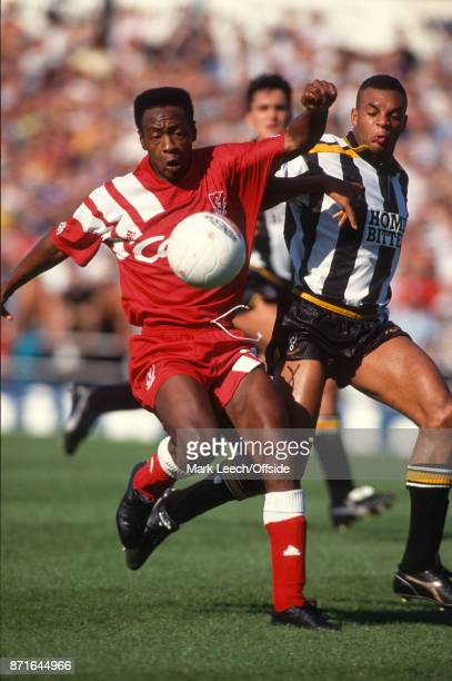 Football League Division One Notts County v Liverpool FC Mark Walters of Liverpool in action