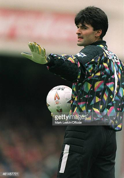 18 September 1994 FA Premier League Football Arsenal v Newcastle United Newcastle goalkeeper Pavel Srnicek