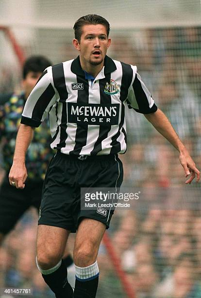 18 September 1994 FA Premier League Football Arsenal v Newcastle United Newcastle defender Steve Howey