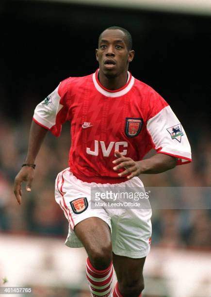 18 September 1994 FA Premier League Football Arsenal v Newcastle United Arsenal striker Ian Wright
