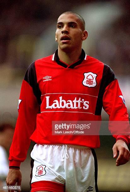 24 September 1994 FA Premiership Tottenham Hotspur v Nottingham Forest Stan Collymore of Forest