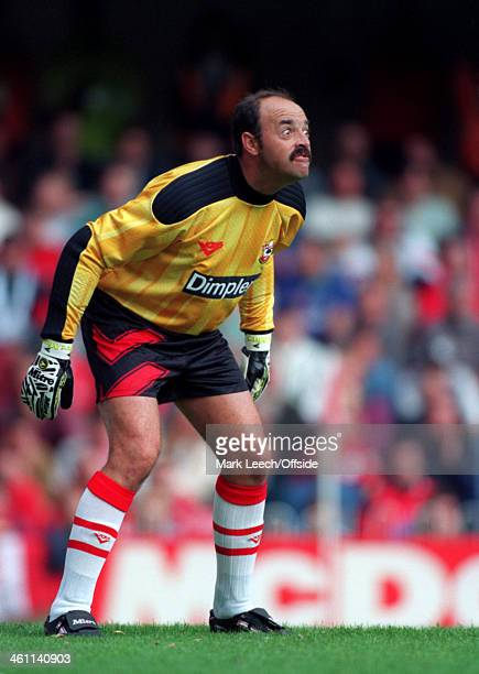 17 September 1994 Premiership Southampton FC v Nottingham Forest FC Bruce Grobbelaar of Southampton pulls a funny looking face