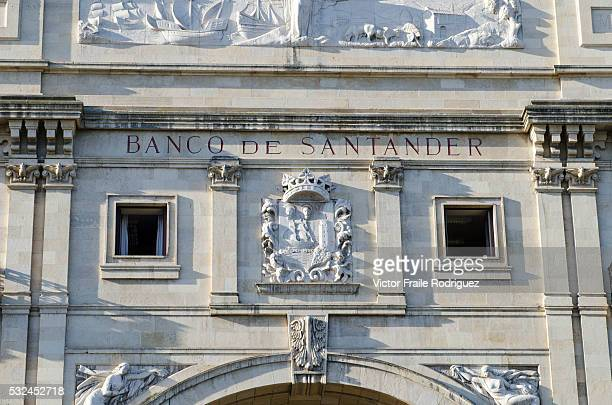 Features of Santander, capital of the autonomous community and historical region of Cantabria situated on the north coast of Spain --- View of the...