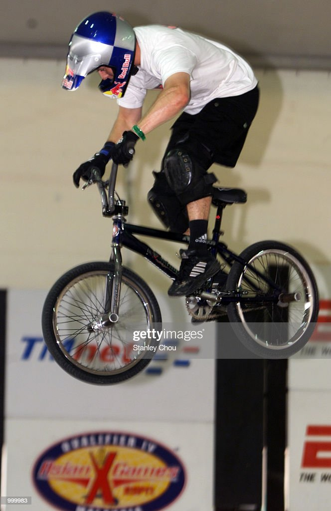Achim Kujawski in action during Pro-stunt Demonstration of the Bicycle Stunt Park during the Asian X-Games Qualifier held at the Mid-Valley Mega Mall, Kuala Lumpur, Malaysia.