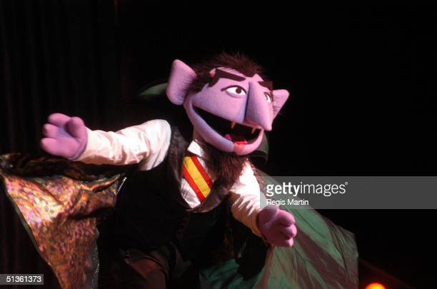 September 2003 - The Count at the Sesame Street Live show. At the Vodafone Arena. Melbourne, Victoria, Australia. .